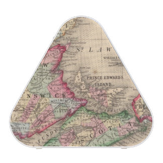 Nova Scotia, New Brunswick, Map by Mitchell Bluetooth Speaker