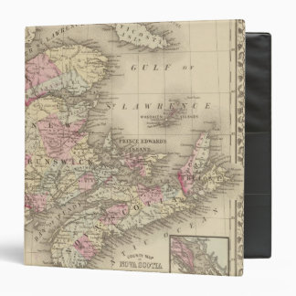 Nova Scotia, New Brunswick, Pr Edward's Id 3 Ring Binder