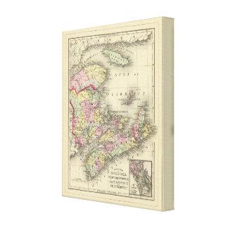 Nova Scotia, New Brunswick, Pr Edward's Id Canvas Print
