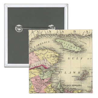 Nova Scotia, New Brunswick, Pr Edward's Id Pinback Button