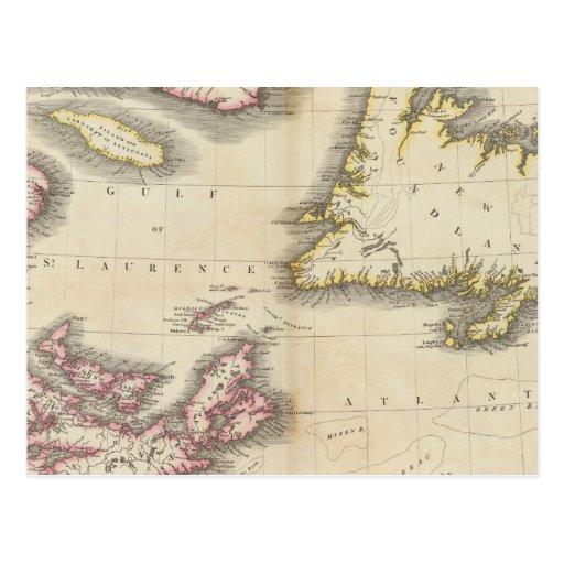Nova Scotia, Newfoundland Postcard