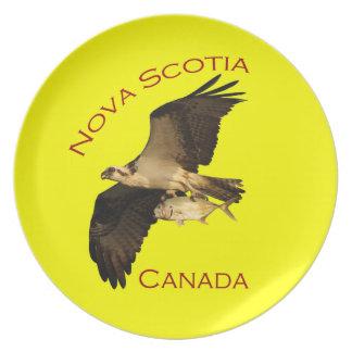 Nova Scotia Party Plate