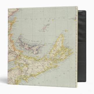 Nova Scotia, Prince Edward Island, Newbrunswick Vinyl Binder