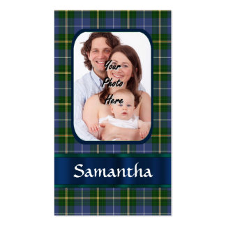 Nova Scotia tartan Business Cards