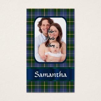Nova Scotia tartan Business Card