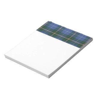Nova Scotia Tartan Notepad
