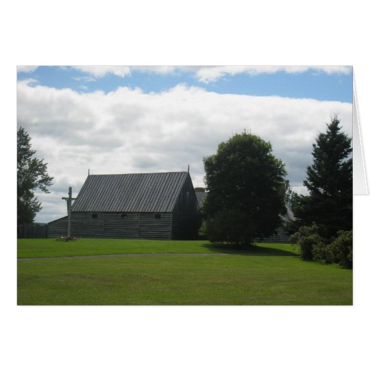 Nova Scotian Fort Card