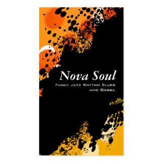 Nova Soul music Business Cards