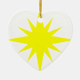 Nova Star Ceramic Ornament