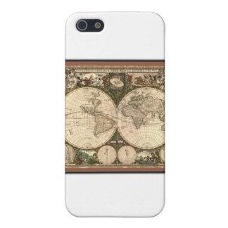 Nova totius terrarum orbis tabula auctore iPhone SE/5/5s case