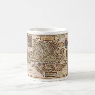 Nova Virginiae Tabula 1630 Henricus Hondius Map Coffee Mug
