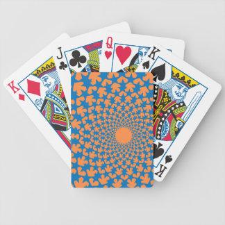 Novae (Blue/Orange) Playing Cards