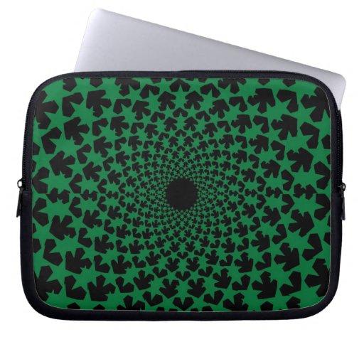 Novae (Green) Laptop Sleeve