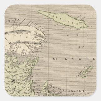 NovaScotia, New Brunswick Square Sticker
