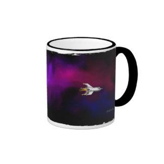 NovaShip Ringer Coffee Mug