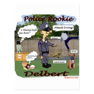 Novato K9. de Delbert Tarjeta Postal