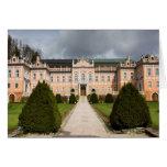 Nove Hrady Castle, Bohemia, Czech Greeting Card