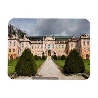 Nove Hrady Castle, Bohemia, Czech Rectangular Photo Magnet