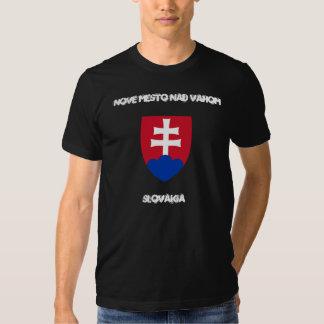 Nove Mesto nad Vahom, Slovakia with coat of arms T Shirt
