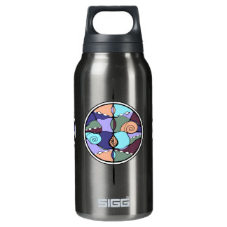 Noveau Modern Abstract Thermos Bottle