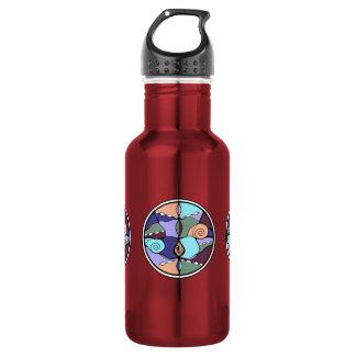 Noveau Modern Abstract Water Bottle