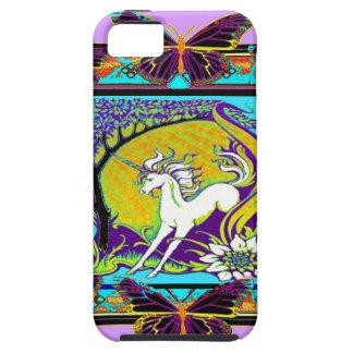 Noveau Unicorn Western Designs by Sharles iPhone SE/5/5s Case