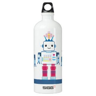 Novedad azul y roja fresca de los robots