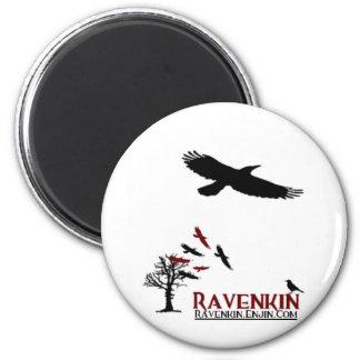 Novedad de Ravenkin Imán Redondo 5 Cm