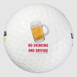 Novedad divertida de la pelota de golf pack de pelotas de golf