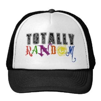 Novedad totalmente al azar que dice diseño gorras