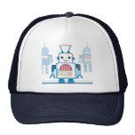 Novedades azules frescas de los regalos del robot gorras de camionero