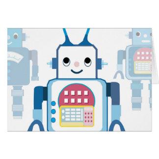 Novedades azules frescas de los regalos del robot