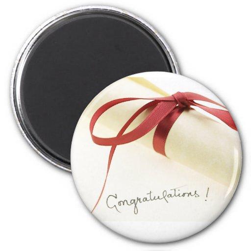 Novedades de Congrats de la graduación Imán Redondo 5 Cm
