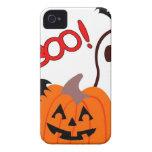 Novedades de Halloween del abucheo iPhone 4 Case-Mate Carcasa