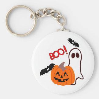 Novedades de Halloween del abucheo Llavero Redondo Tipo Pin