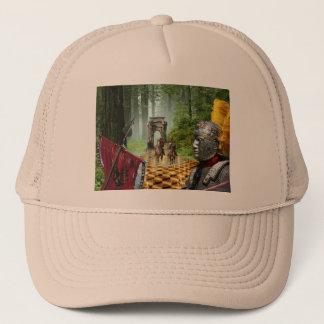 Novel Ghost Forrest Trucker Hat