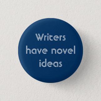 Novel Ideas Pinback Button