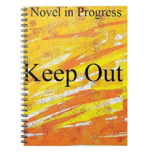 Novel in Progress--Fire Journal