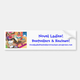 Novel Ladies Bumper Sticker Car Bumper Sticker