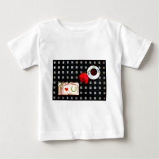 Novel tic breakfast baby T-Shirt