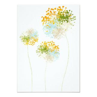 Novel TIC Flower Card