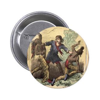 Novela de moneda de diez centavos Kit Carson Pin