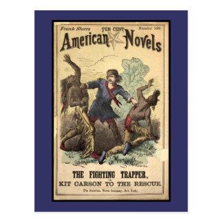 Novela de moneda de diez centavos Kit Carson Postales