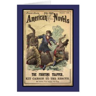 Novela de moneda de diez centavos Kit Carson Tarjeta De Felicitación