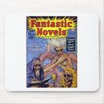 Novelas fantásticas 2 alfombrillas de ratones