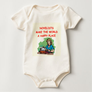 novelist baby bodysuit