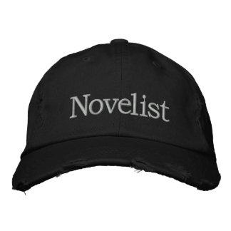 Novelist Embroidered Hat for Novel Writers