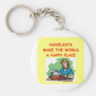 novelist keychain