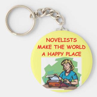 novelist key chains