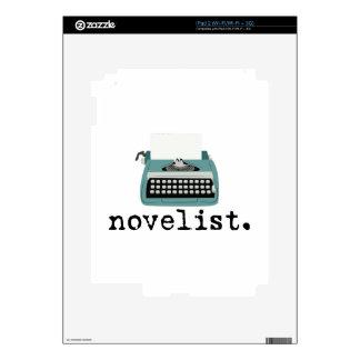Novelist Decal For The iPad 2